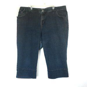 Venezia Capri Jeans Stretch High-Rise Size 8 22-24